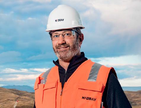 Cashel Meagher, CEO de Hudbay Minerals (Foto: G de Gestión)