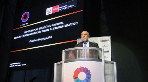 Ministro Eleodoro Mayorga (Foto: Gestión)
