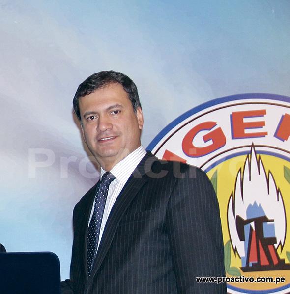 Germán Jiménez Vega, gerente de Pluspetrol en Perú