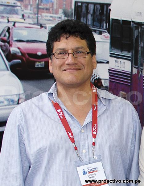 Gabriel Amaro, gerente general de la Confiep