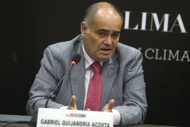 Gabriel Quijandría (Foto: Andina)