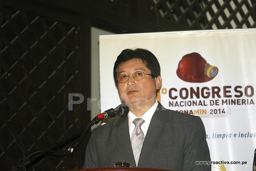 Viceministro de Minas, Guillermo Shinno