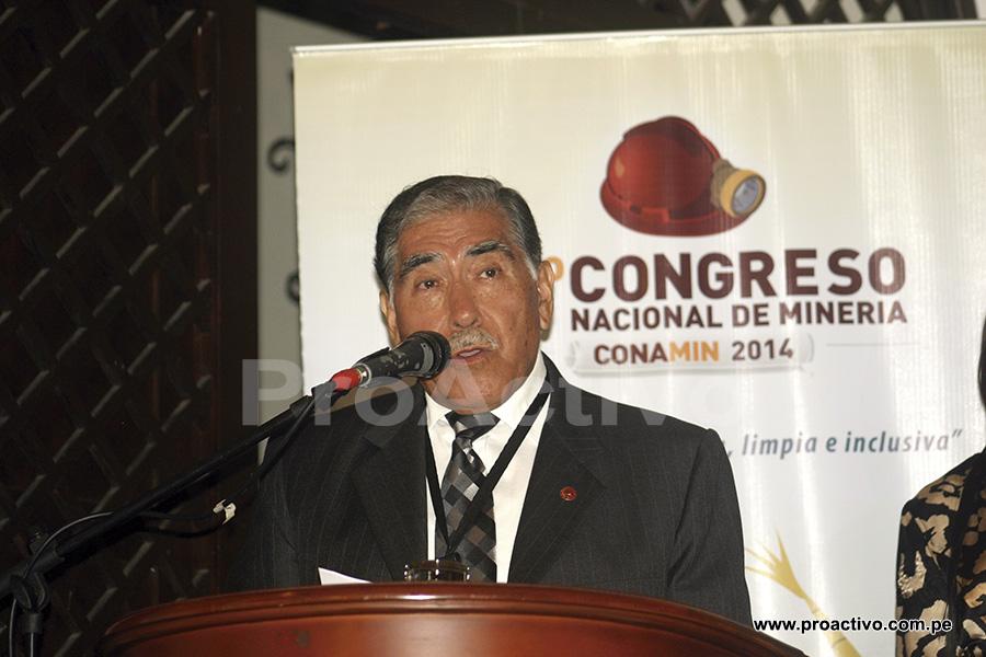 Heraclio Ríos, Presidente de CONAMIN 2014