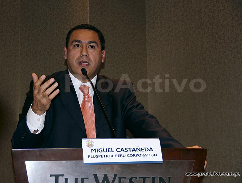 Miguel Castañeda, Gerente de Asuntos Comunitarios de Pluspetrol