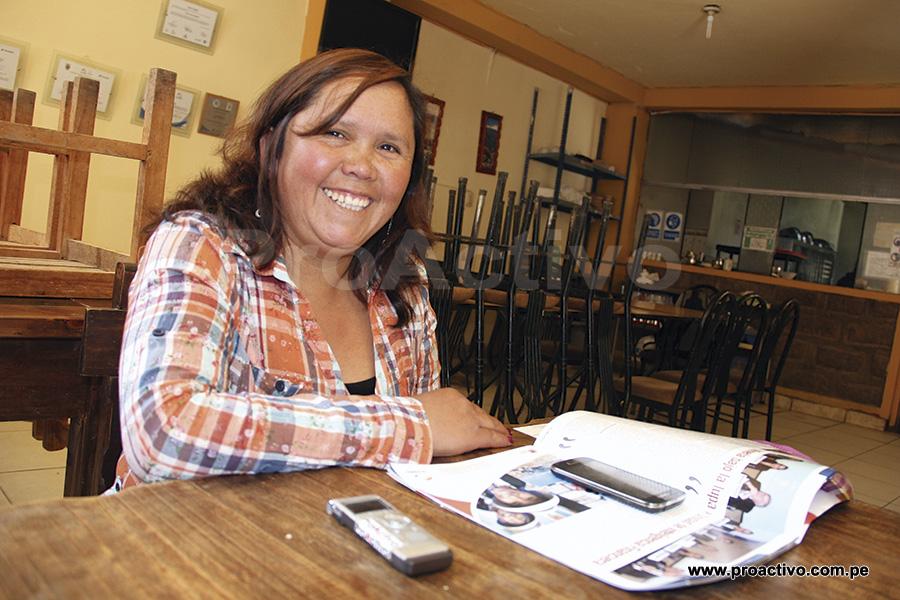 Edith Silva, presidente de la Asociación de Restaurantes