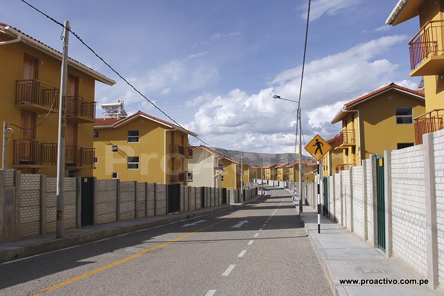 Calles de la Nueva Fuerabamba