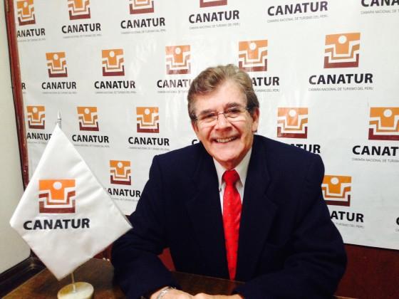 Jorge Jochamowitz Rodríguez, Presidente de la Cámara Nacional de Turismo (CANATUR).