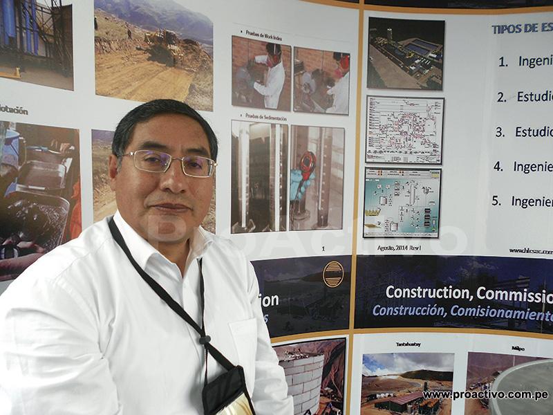 Manuel Ortega, gerente general de HLC.