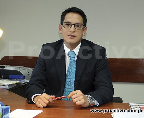 Mario Huapaya, secretario general del Ministerio de Energía y Minas