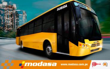 Modasa llevará buses para minería a Canadá y Australia
