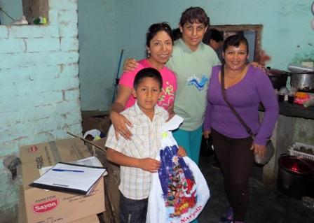 Navidad en Cajabamba. Foto: Cortesía