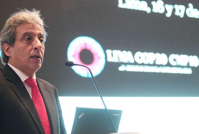 Manuel Pulgar-Vidal, Presidente de la COP20 (Foto: Andina)