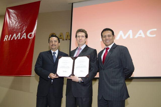 RIMAC primera aseguradora del Perú en obtener certificación OHSAS 18001 2007