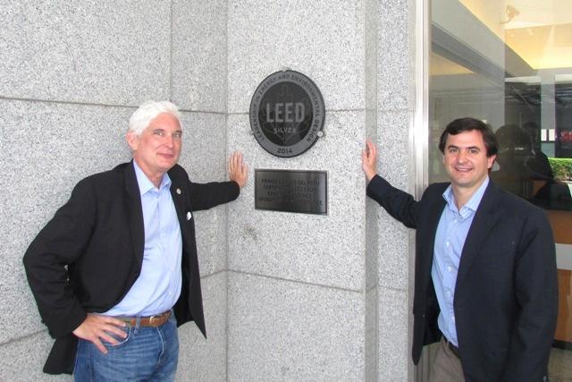 Roger Platt y Alfonso Ruiz