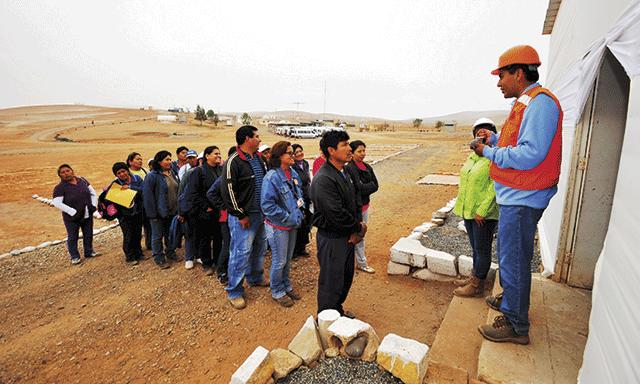Southern inicia trabajos preliminares en Tía María
