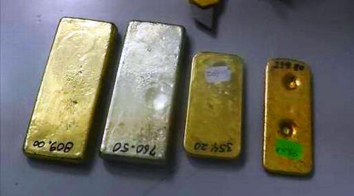 Sunat incautó 2.14 kilos de oro ilegal con facturas y guías de remisión en blanco