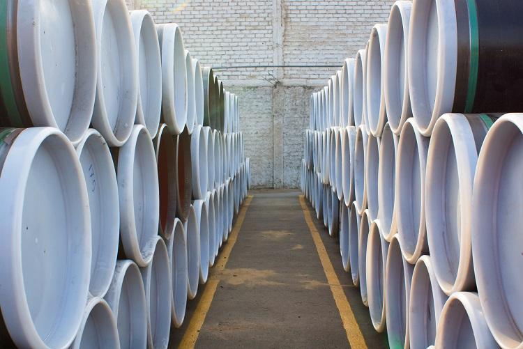 LLEGAN LOS PRIMEROS TUBOS PARA EL GASODUCTO SUR PERUANO (Foto: Cortesía)