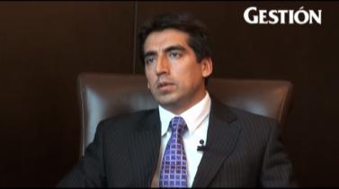 Carlos Flores, gerente corporativo de tecnología de información de Volcan Compañía Minera.