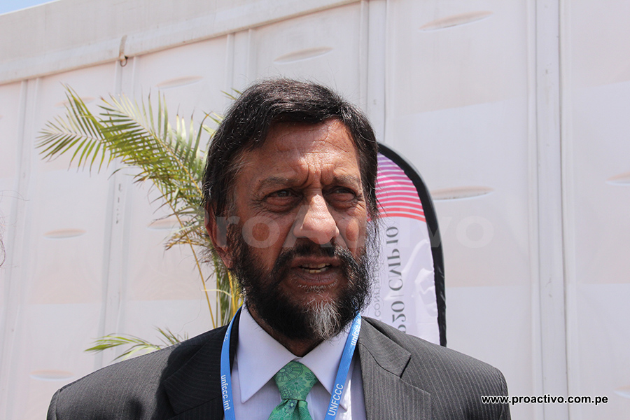 Rajendra Pachauri, director del IPCC