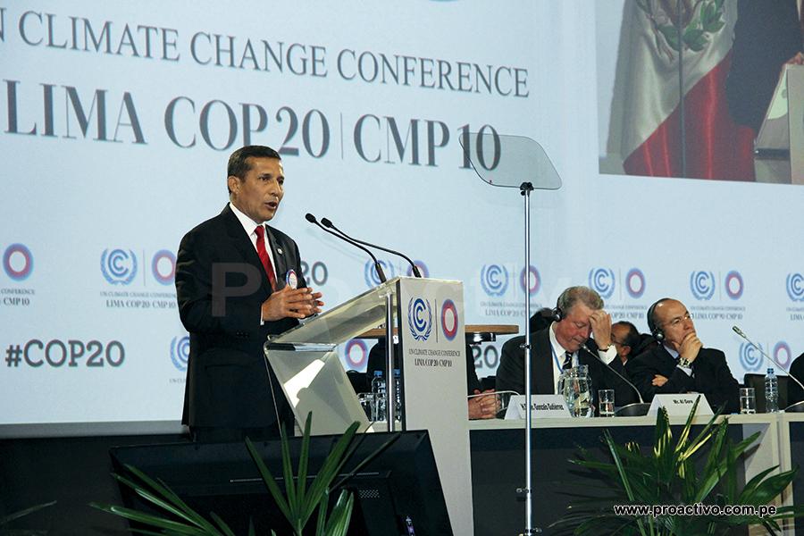 Venue. Ollanta Humala, Al Gore y Felipe Calderón