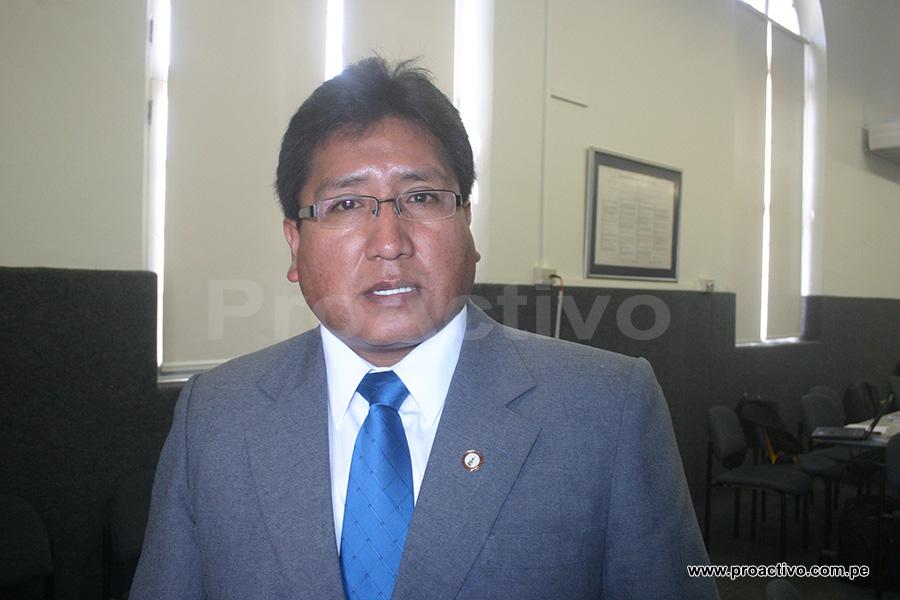 gerente general de la región Puno, Juan Cairo Rojas
