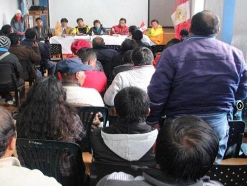 Minera Brocal y municipio se Tinyahuarco se reunieron para trabajo social en área de influencia