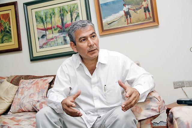 Reynaldo Hilbick, presidente regional de Piura.