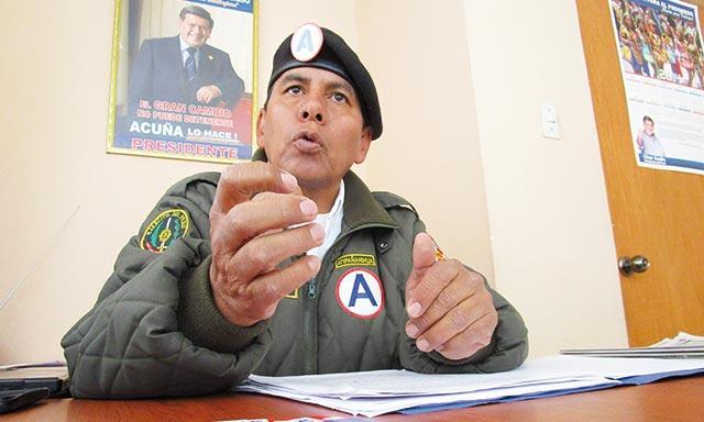 Willman Andía Benavides (Foto: Pachamama radio)
