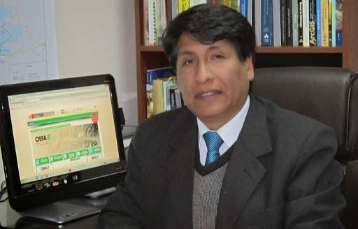 Yuri Coila Choque, jefe de la Oficina Desconcentrada de OEFA (Foto: Pachamama Radio)