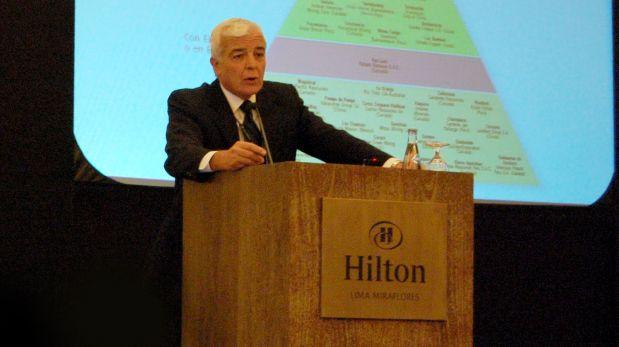 Carlos Gálvez Pinillos, presidente de la SNMPE.