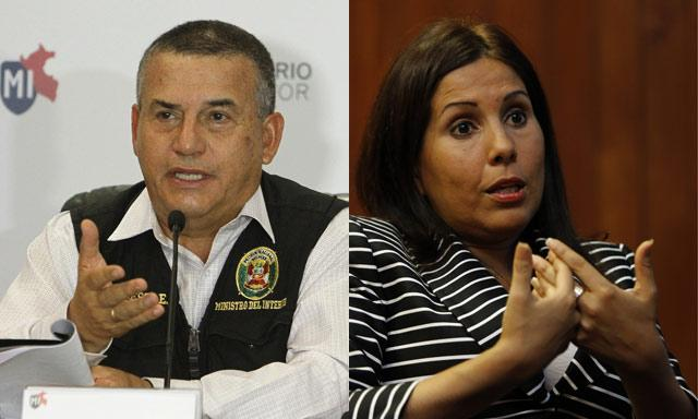 daniel Urresti y Tania quispe
