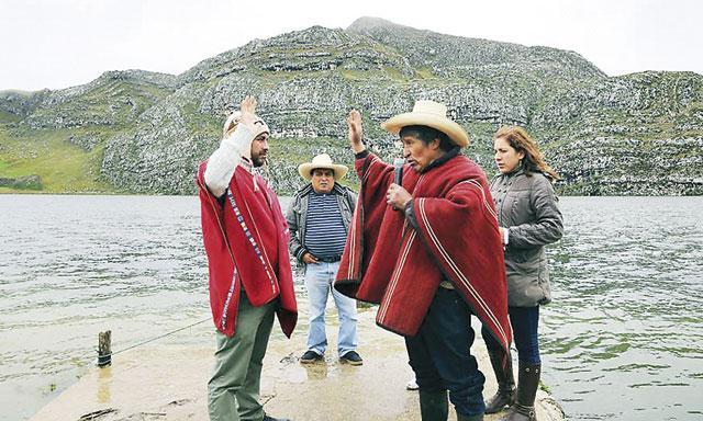Además anunció que denunciará a otras mineras que -afirma- se encuentran contaminado el ambiente. (Foto: La República)