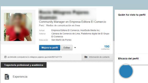 Es necesario mantener actualizado el perfil en LinkedIn, de lo contrario, podría perjudicar tu imagen profesional.