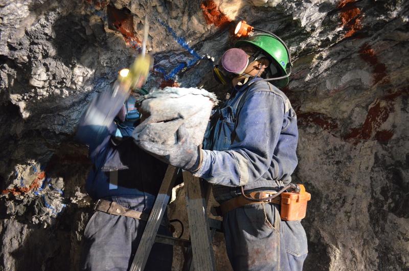 Ore Control at Caylloma Mine