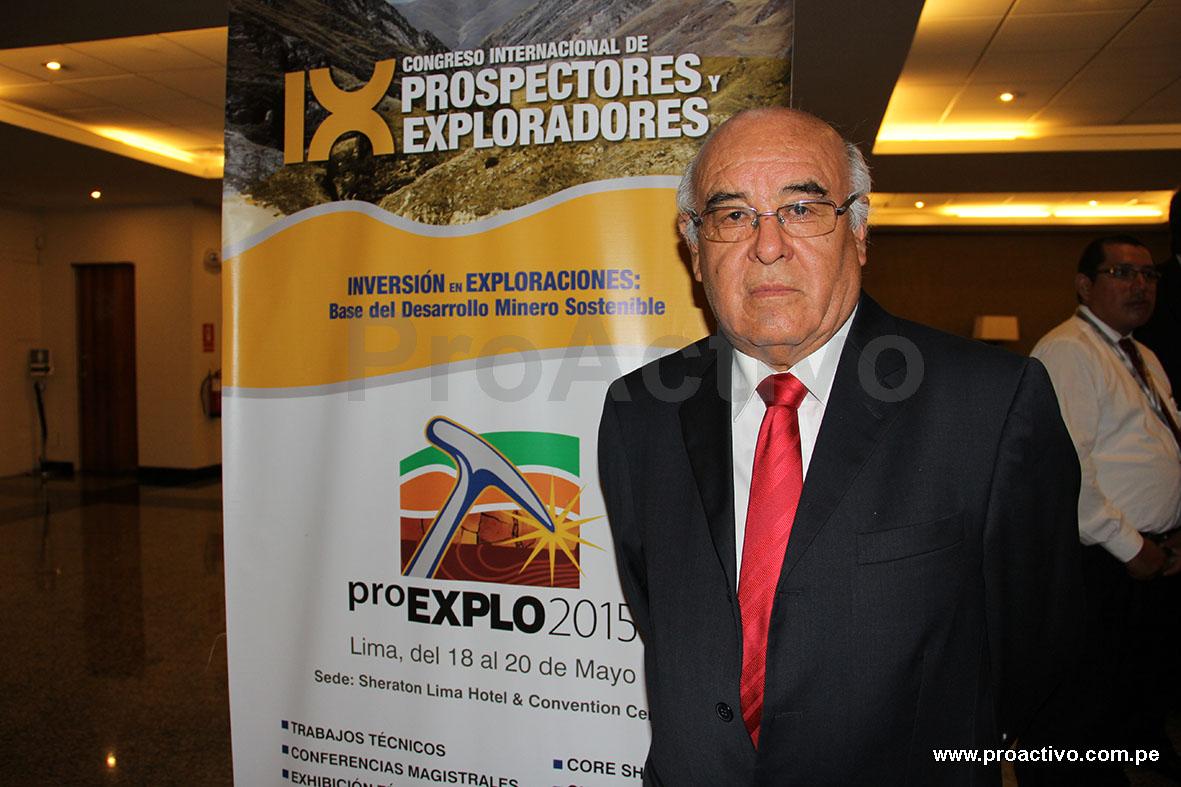 Ángel Álvarez, presidente de ProExplo 2015