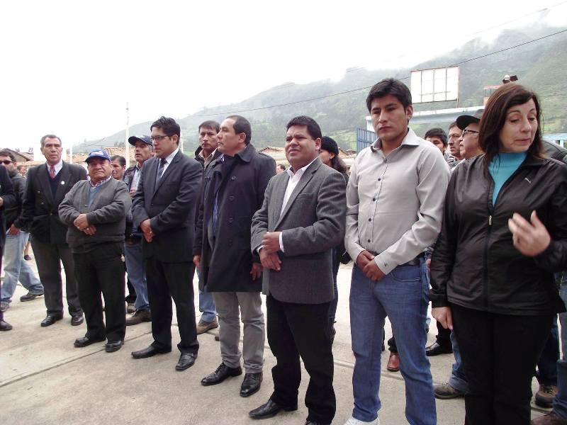 Antamina 20 millones para centro de salud y canal de regadío en Chiquián, Ancash