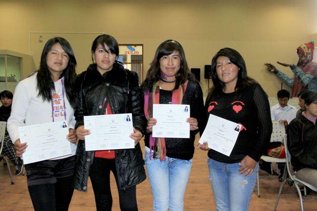 Antapaccay - Graduadas de CETPRO