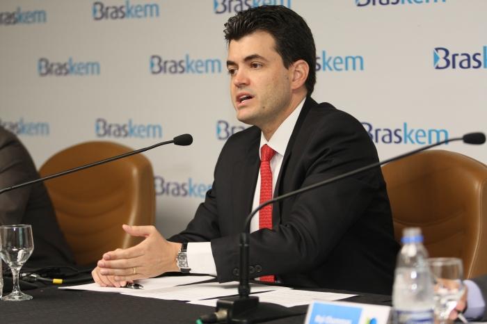 Presidente da Braskem, Carlos Fadigas (Foto: CLLEBER PASSUS)
