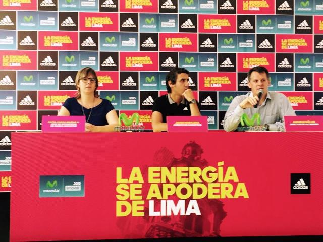 Conferencia anuncio de la Maraton Movistar42K en el  1