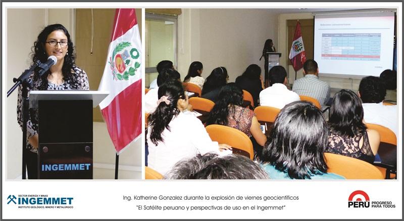 El sistema satelital peruano - Uso y oportunidades para Ingemmet