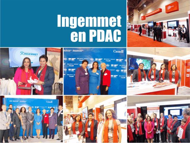 INGEMMET participará del PDAC 2015 en Canadá