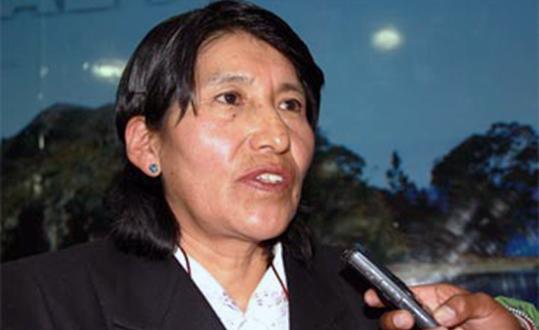Juana Cañapataña Larico (Foto: Los Andes)