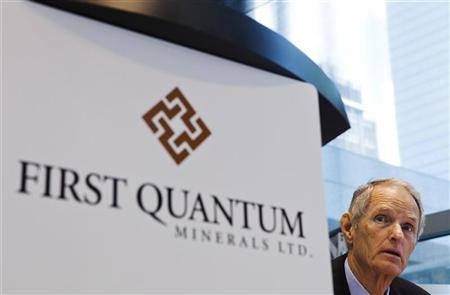 First Quantum Minerals Chairman, CEO and Director Philip Pascall (REUTERS/Mark Blinch)