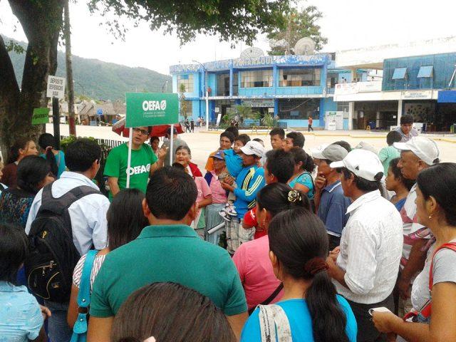 Sector ambiente instala sistema de denuncias ambientales en Pichanaki