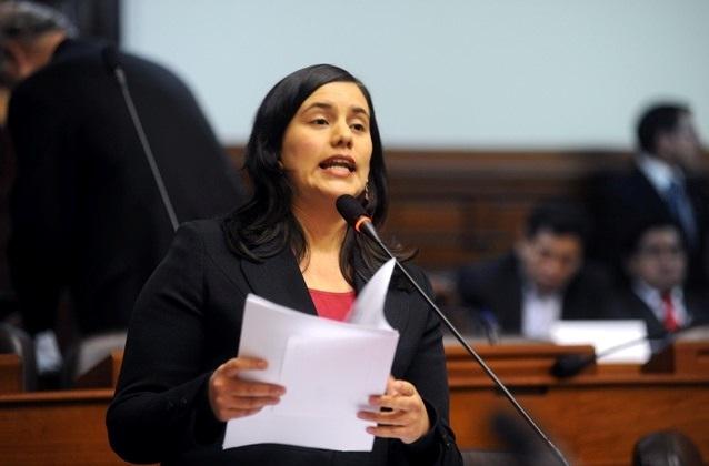 Congresista Verónica Mendoza