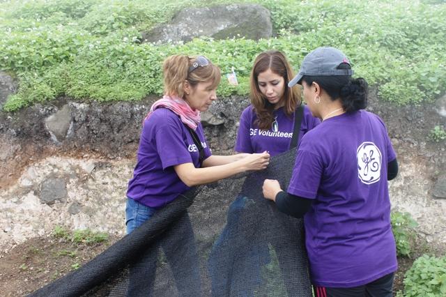 Voluntarios de GE Perú dedicaron más de 1,800 horas de trabajo social durante el 2014