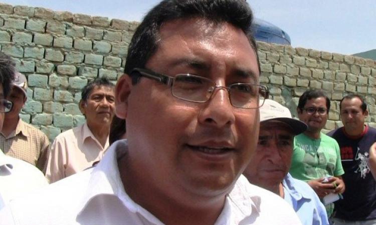 alcalde de Hunchaco, Jose Ruiz Vega