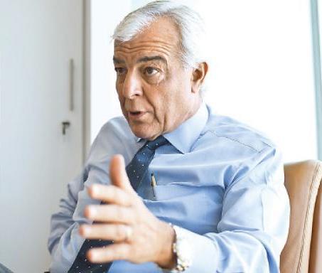 Carlos Gálvez, presidente de la Sociedad Nacional de Minería, Petróleo y Energía. (Foto: Gabriela Morales)