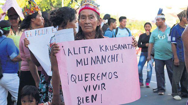 Los indígenas de Loreto acusan a la empresa de contaminar su entorno. (Defensores de la Madre Tierra)