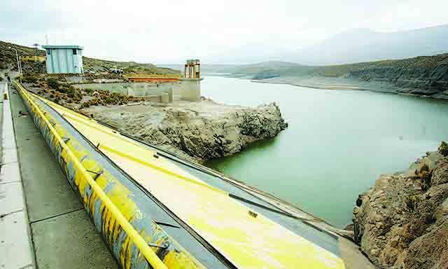 LEVE. Aguada Blanca tuvo leve aumentó de recurso hídrico. (Gabriel Ramos/La República)